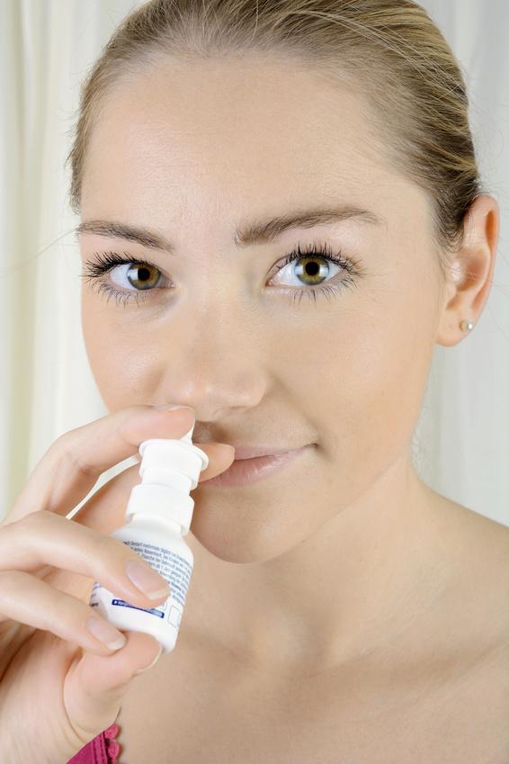 Meerwasser Nasenspray gegen Schnupfen